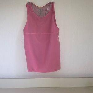 Pink ivviva athletic tank top